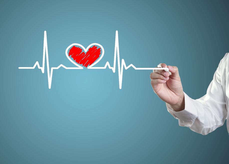 Drawing symbols heart health